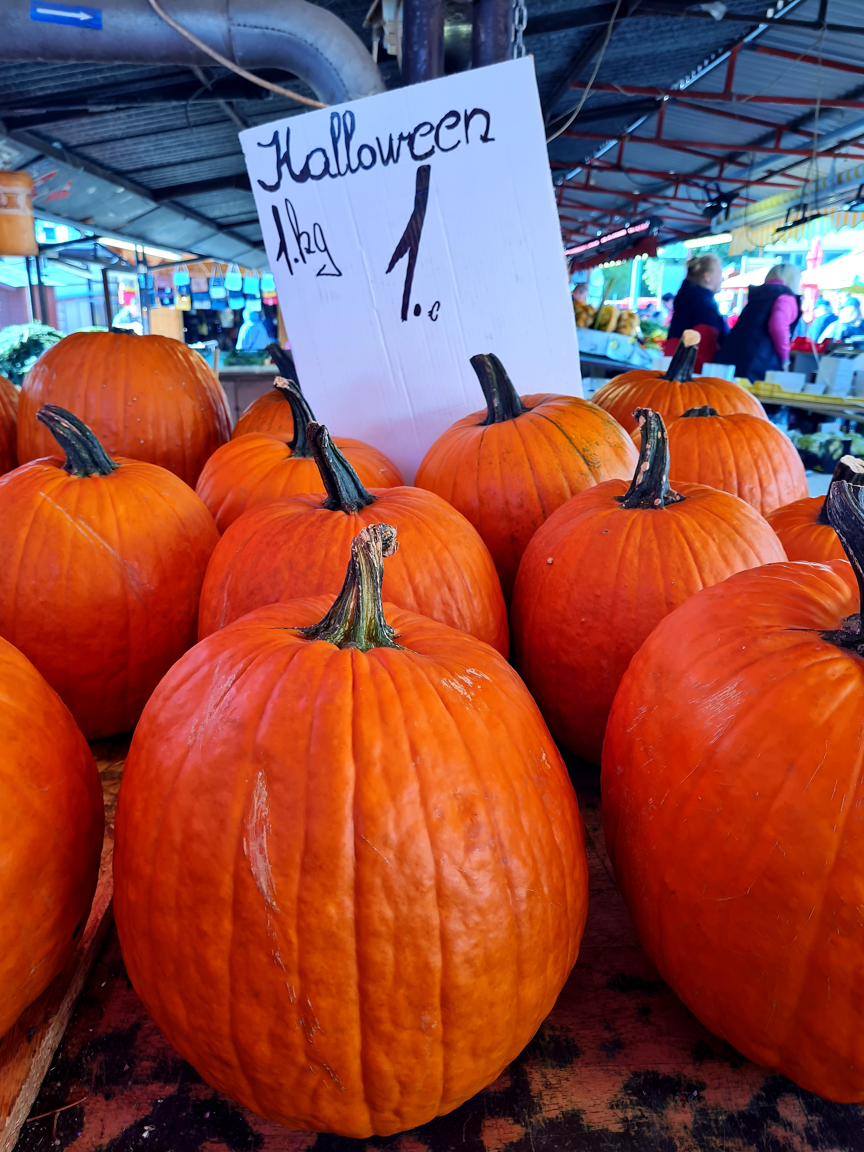Tekvice na Halloween len za 1 euro. Využite túto výhodnú ponuku