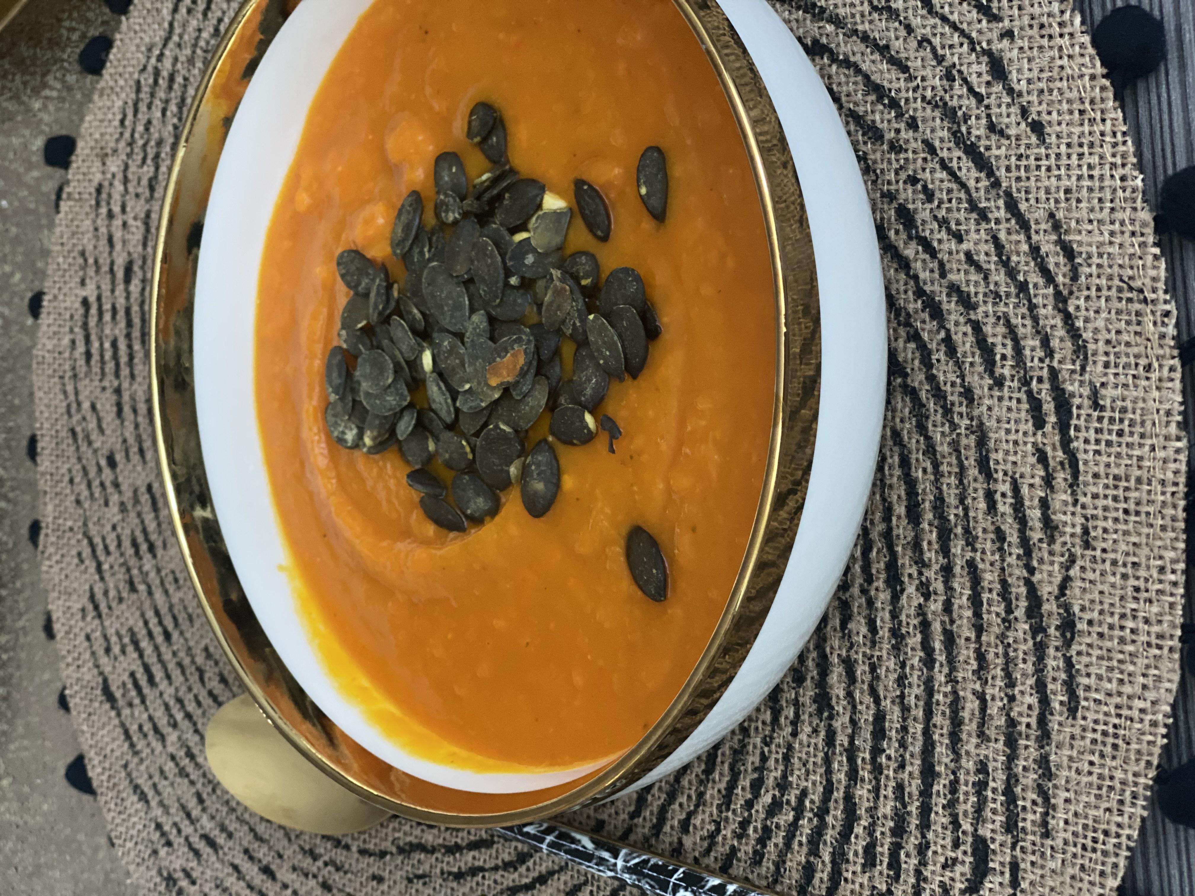 Jesenná hokaido polievka podľa nutričnej poradkyne Denisy Valaškovej